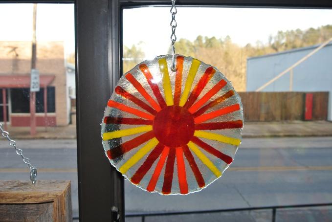 small fused sun